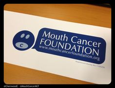 Custom Printed Collection Box Labels for the Mouth Cancer Foundation - - - - - A charity helping people affected by mouth cancer, supplying patient support, raising public awareness, funding research and more! - - - - - Find out more about Charnwood Catalogue's custom printed collection bucket labels here: http://www.charnwood-catalogue.co.uk/category/104-custom-printed-labels-badges