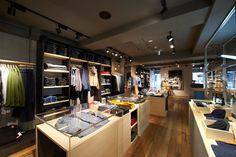Levis Shinjuku store, Tokyo store design