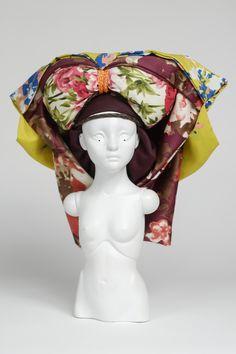 """Midori, a """"porcelain soldier"""", sculpture by Lauren Brevner (September 2014)"""