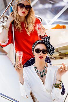 fabulous muses street style fashion, diana enciu, alina tanasa (3) by diana.enciu, via Flickr