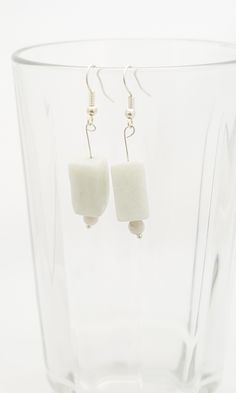 Handmade Gifts of Jewelry: Amazonite, white turquoise bead: One of a kind