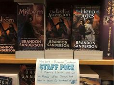 """Mistborn """"if Ocean's Eleven was set in Mordor after Sauron had been in power for a thousand years."""""""