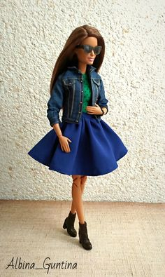 Poppies, Midi Skirt, Collector Dolls, Doll Stuff, Monster High, Barbie Dolls, Skirts, Outfits, Skirt