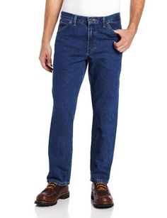 cool Men's Relaxed-Fit Five-Pocket Washed Jean - For Sale Check more at http://shipperscentral.com/wp/product/mens-relaxed-fit-five-pocket-washed-jean-for-sale-4/