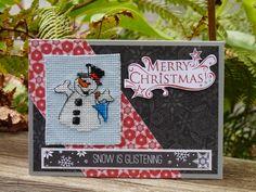 CTMH - cross-stitch snowman