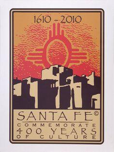 Santa Fe 400th Anniversary Poster ...