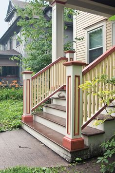 How To Rebuild Porch Stairs | Old House Restoration, Products & Decorating
