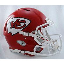 Riddell Kansas City Chiefs Revolution Speed Helmets