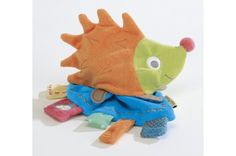Parents Infobébé - déc. 2014 - Les Transformables, Gaston le Hérisson Doudou dans la liste de Noël - http://noel.infobebes.com/cadeaux-noel/Noel-55-jouets-pour-tous-les-budgets#