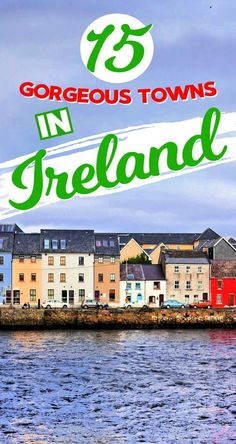 Here are 15 gorgeous places to visit in Ireland! From Adare to Kenmare, we've got you covered with all the best towns in Ireland that are easy to miss. Read these Ireland travel tips to make your Ireland trip extra amazing. Solo Travel Tips, Europe Travel Tips, Travel Abroad, European Travel, Travel Guides, Travel Destinations, Travel Hacks, Holiday Destinations, Budget Travel