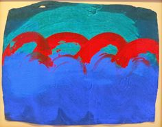 A Place Called Space: Indian Waves, Howard Hodgkin