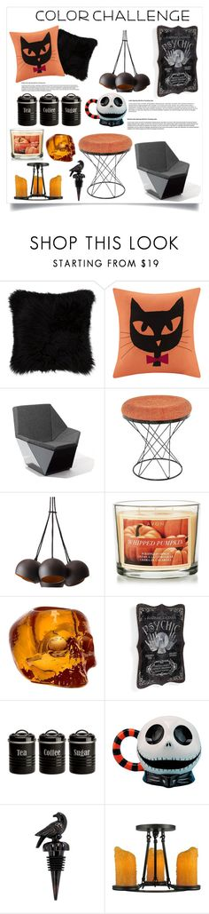 """""""color challenge"""" by ashleyck604 ❤ liked on Polyvore featuring interior, interiors, interior design, home, home decor, interior decorating, Madison Park, Knoll, Control Brand and Avon"""
