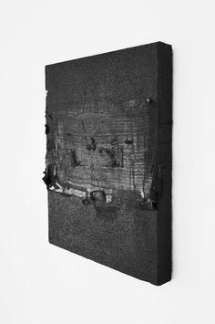 Ryan Estep (red wax, burlap) 2012 (bw)