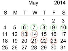 Moon Calendar May #maggio #may #mooncalendar #calendariolunare #haircut #tagliocapelli #daysyesorno #giornisiono