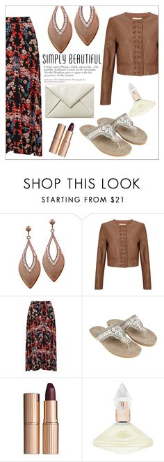 """""""Copper #2"""" by eternal-collection ❤ liked on Polyvore featuring Somerset by Alice Temperley, Monsoon, Charlotte Tilbury and Phase Eight"""
