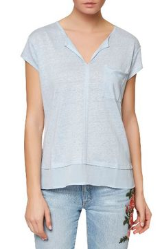 Sanctuary Sanctuary City Mix Layered Look Tee (Regular & Petite) available at #Nordstrom
