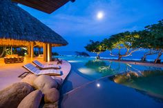 Casa Majani Luxury Ocean Front Villa for rent in Punta de Mita on the riviera nayarit