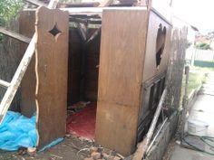 Játszóház kislánynak hulladék anyagokból
