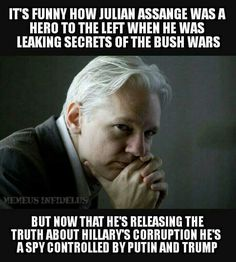 JULIAN ASSANGE, Doing the Journalist 's Job because America NO LONGER HAS ANY JOURNALISTS, ONLY ACTORS WHO ARE TOLD WHAT TO WRITE & SAY!