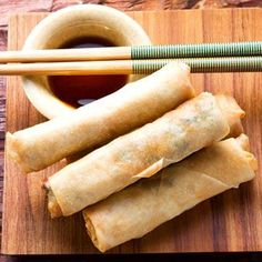 Love Chinese food? Make these spring rolls!