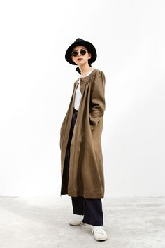 Wood Linen Robe - makersgonnamake