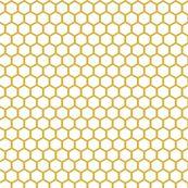 White Golden Honeycomb by mrshervi
