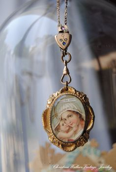 Sainte MèreVintage Assemblage French Prayer by ChristineWallace