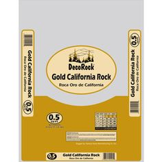 0.5-cu Ft Multiple Colors/Finishes Gold California Rock at Lowes.com