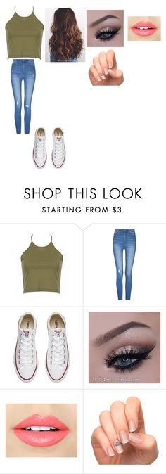 """outfit"" by daniellem618 on Polyvore featuring Converse, Fiebiger and Incoco"