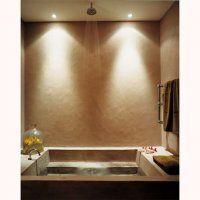 Une salle de bain en béton façon hammam - Marie Claire Maison