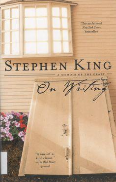 'On Writing' de Stephen King #livros #recursosdoescritor