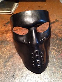 Hey, I found this really awesome Etsy listing at https://www.etsy.com/listing/181287578/black-leather-mask-biker-mask-face