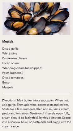 STAFF RECIPE | Mussels