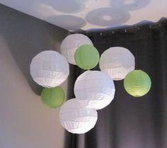 paper lantern cluster