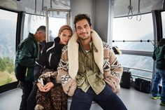 OhMyGandy! Fandom — HQ Backstage - David Gandy and Bianca Balti...