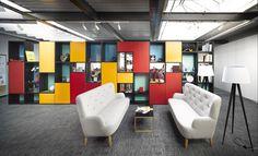 Almacenes Liverpool convertida en oficinas por Snook Arquitectos