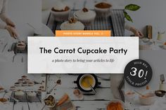 Food Stock Photo Bundle Cupcake Pack by Stories by Scatter Jar on @creativemarket