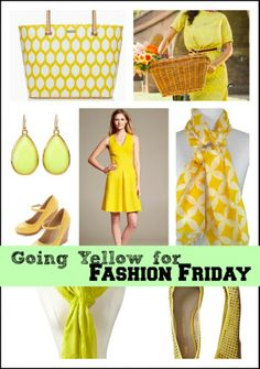 That Time that #FashionFriday Went All Yellow