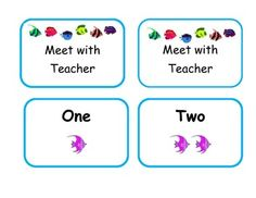 Math Workstation Cards ~ If you have read Debbie Diller: Math Workstations, you know that you can use a management card and label all your math workstations with numbers.