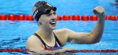 Day 221. Katie Ledecky Rio 2016: Katie Ledecky wins gold in the women's 200m freestyle in Rio 2016. kurilane.com