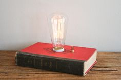 Absolutely adore this Hardback Book Lamp - Catherine the Great via Etsy.