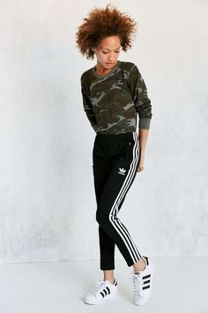 Urban Outfitters adidas Originals Supergirl Track Pant