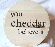 This wooden cheese wheel box is great as home decor in your kitchen or bar. It could also be used as a unique gift box with your favorite wine stored safely inside.