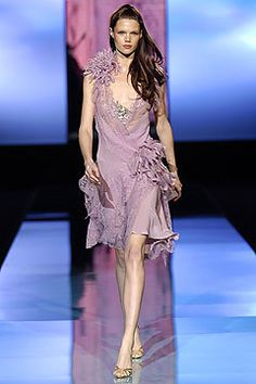 Elie Saab Spring 2005 Couture Fashion Show - Tiiu Kuik