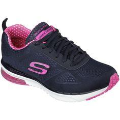 5bf483a2252 Fingerhut - Skechers Women s Infinity Walking Shoe - Black Tenis Skechers