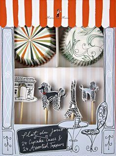 Meri Meri Parisian Cupcake Kit:Amazon:Kitchen & Dining
