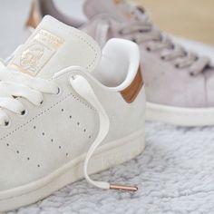 Adidas Originals Gold Stan Smith blanco & Gold Originals toe cap formadores de ASOS ce1be6