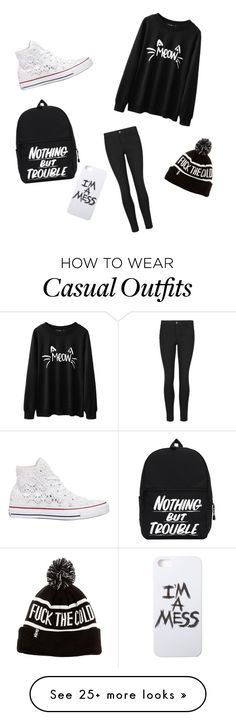 """""""Casual"""" by angel-kassem on Polyvore featuring Indigo Collection, Converse and LAUREN MOSHI"""