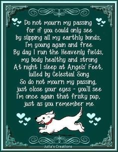 33 Best All Dogs Go To Heaven Images Pets Thoughts Amor