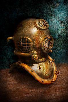 Steampunk Diving Helmet